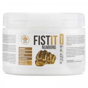 FIST IT Numbing Water Based Lubricant | 500ml
