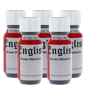 English Aromas 25ml 5 Pack