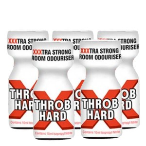 Throb Hard XXX 10ml 5 Pack