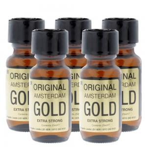 Amsterdam Gold Aromas Ultra Super Strength 25ml 5 Pack