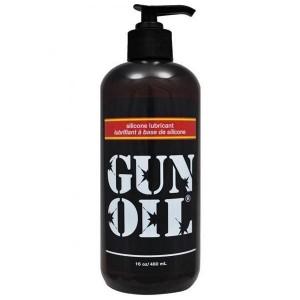 Gun Oil Silicone 16oz / 480ml - Pump Top Lubricant