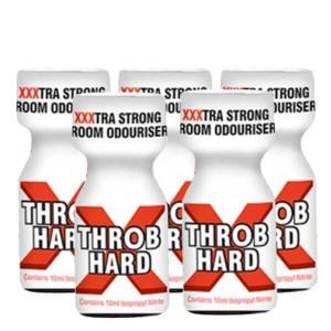 Throb Hard XXX 10ml 5 Pack